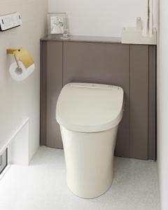 システムトイレ(収納一体型トイレ)